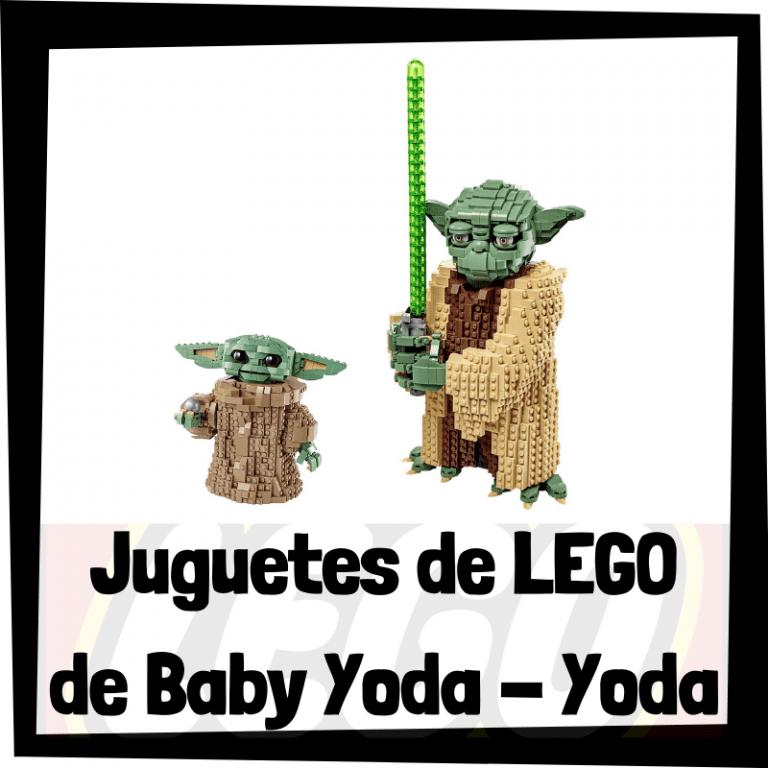 Lee más sobre el artículo Juguetes de LEGO de Baby Yoda y Yoda