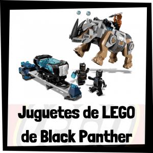 Juguetes de LEGO de Black Panther