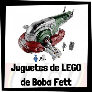 Juguetes de LEGO de Boba Fett de Star Wars - Sets de lego de construcción de Boba Fett