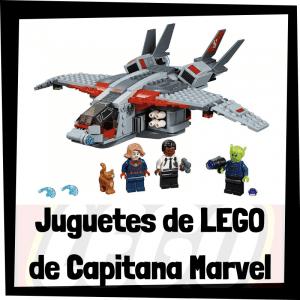 Juguetes de LEGO de Capitana Marvel