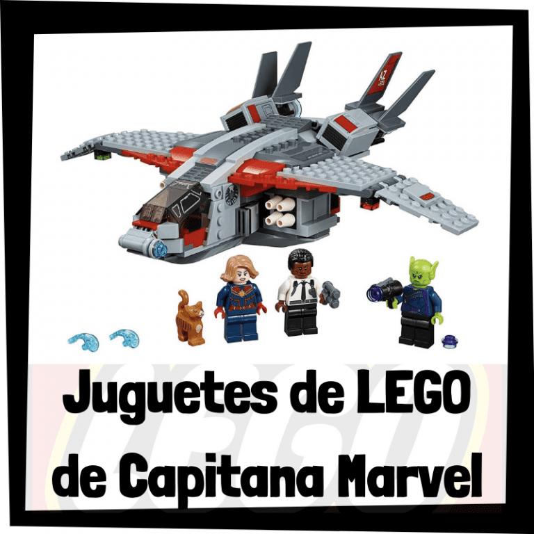 Lee más sobre el artículo Juguetes de LEGO de Capitana Marvel