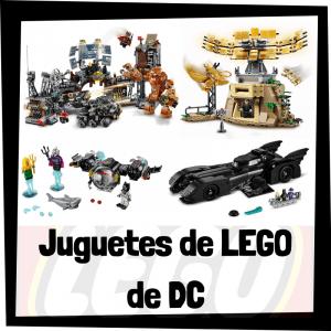 Juguetes de LEGO de DC de LEGO SUPER HEROES - Sets de lego de construcción de DC de la Liga de la Justicia