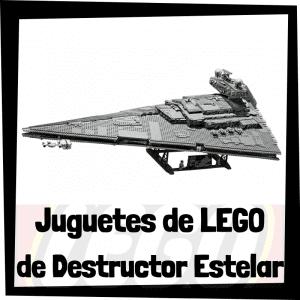 Juguetes de LEGO de Destructor Estelar Imperial de Star Wars - Sets de lego de construcción de Star Destroyer - Destructor Imperial