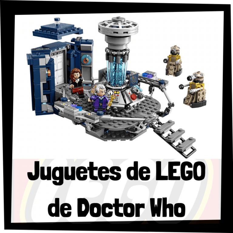 Lee más sobre el artículo Juguetes de LEGO de Doctor Who