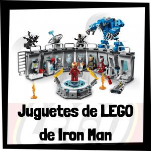 Juguetes de LEGO de Iron Man
