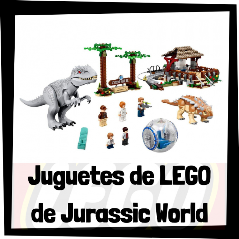 Lee más sobre el artículo Juguetes de LEGO de Jurassic World