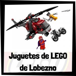 Juguetes de LEGO de Lobezno