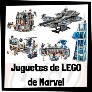 Juguetes de LEGO de Marvel de LEGO SUPER HEROES - Sets de lego de construcción de Marvel de los Avengers - Vengadores