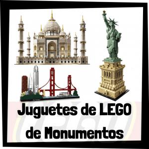 Juguetes de LEGO de Monumentos del mundo - Sets de lego de construcción de monumentos y ciudades del mundo
