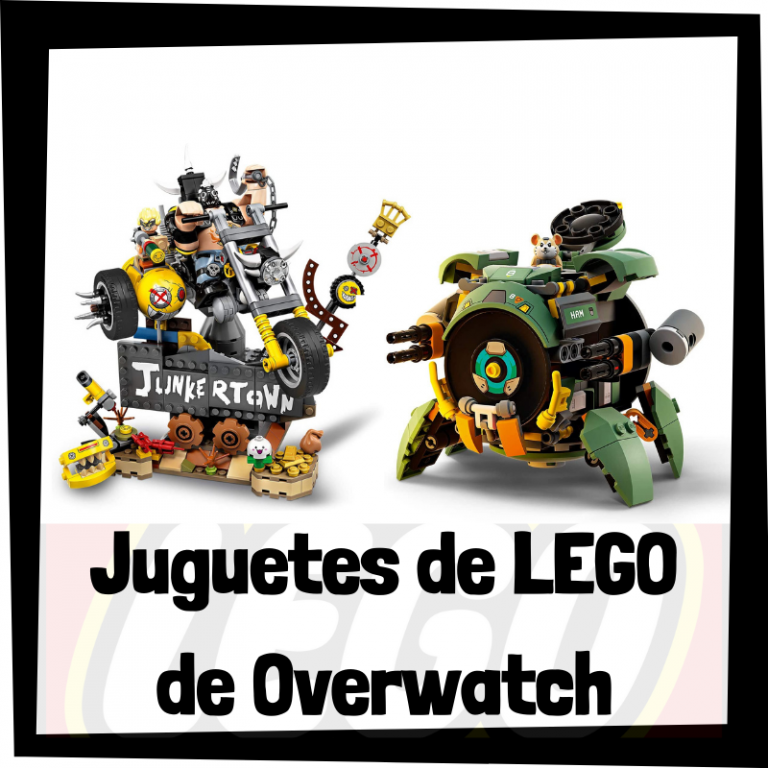 Lee más sobre el artículo Juguetes de LEGO de Overwatch