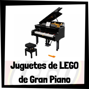 Juguetes de LEGO de Piano