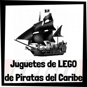 Juguetes de LEGO de Piratas del Caribe