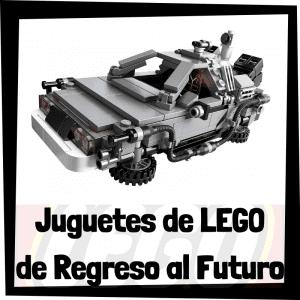 Juguetes de LEGO de Regreso al Futuro