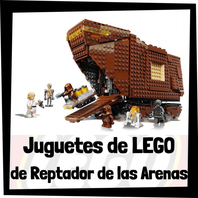 Lee más sobre el artículo Juguetes de LEGO de Reptador de las Arenas