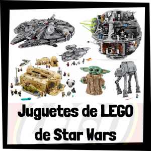 Juguetes de LEGO de Star Wars - Sets de lego de construcción de historias de Star Wars