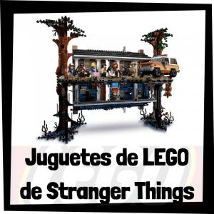 Juguetes de LEGO de Stranger Things