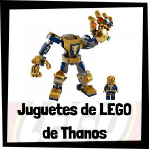 Juguetes de LEGO de Thanos