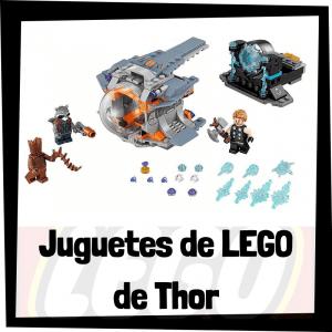 Juguetes de LEGO de Thor