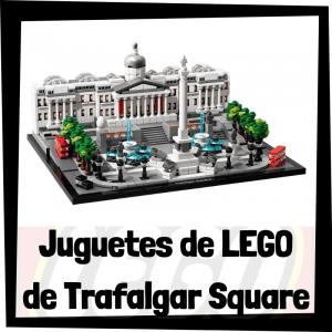 Juguetes de LEGO de Trafalgar Square