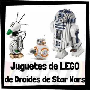 Juguetes de LEGO de droides de Star Wars