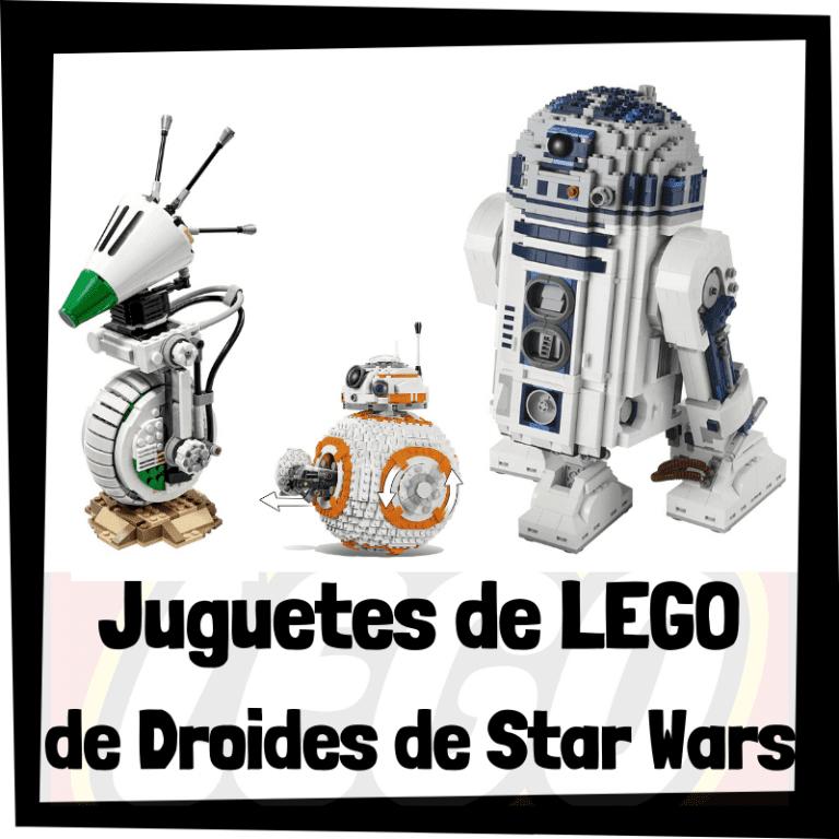 Lee más sobre el artículo Juguetes de LEGO de droides de Star Wars