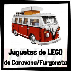 Juguetes de LEGO de furgonetas y caravanas