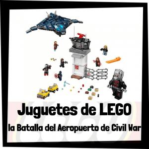 Juguetes de LEGO de la Batalla del aeropuerto de Civil War