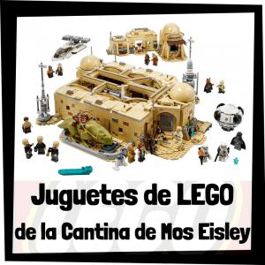 Juguetes de LEGO de la Cantina de Mos Eisley de Star Wars - Sets de lego de construcción de la Cantina de Mos Eisley