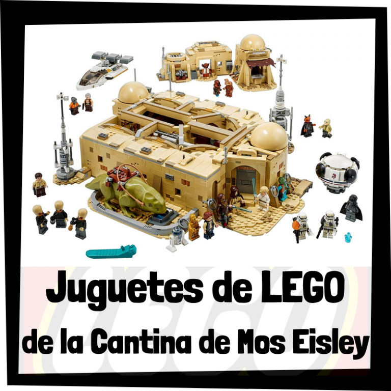 Lee más sobre el artículo Juguetes de LEGO de la Cantina de Mos Eisley