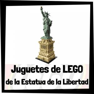 Juguetes de LEGO de la Estatua de la Libertad