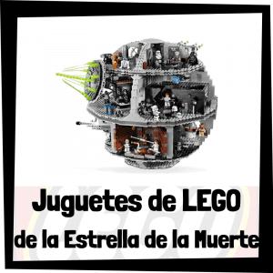 Juguetes de LEGO de la Estrella de la Muerte