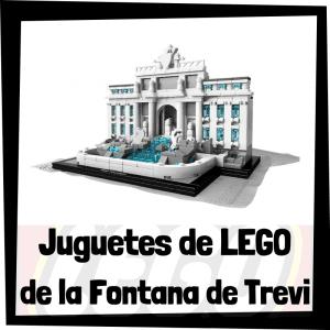 Juguetes de LEGO de la Fontana de Trevi