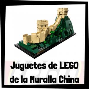 Juguetes de LEGO de la Muralla China
