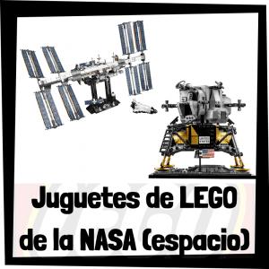 Juguetes de LEGO de la NASA - Sets de lego de construcción del espacio de la NASA