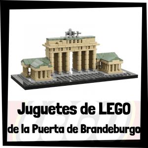 Juguetes de LEGO de la Puerta de Brandeburgo