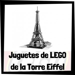 Juguetes de LEGO de la Torre Eiffel
