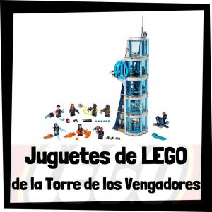 Juguetes de LEGO de la Torre de los Vengadores