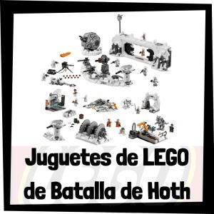 Juguetes de LEGO de la batalla de Hoth