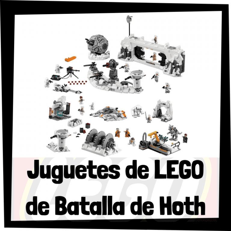 Lee más sobre el artículo Juguetes de LEGO de la batalla de Hoth