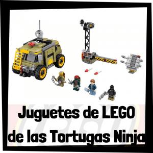 Juguetes de LEGO de las tortugas ninja - Sets de lego de construcción de las tortugas Ninja