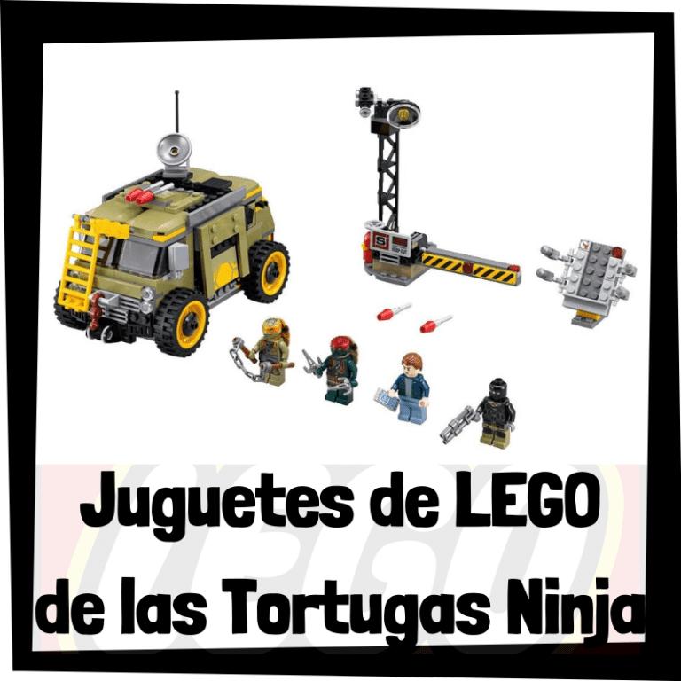 Lee más sobre el artículo Juguetes de LEGO de las Tortugas Ninja