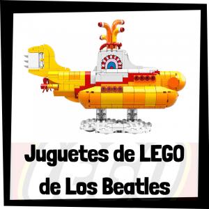 Juguetes de LEGO de los Beatles