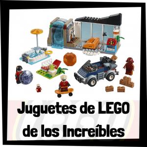 Juguetes de LEGO de los Increíbles