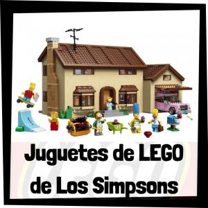 Juguetes de LEGO de los Simpsons