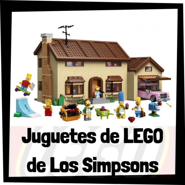 Lee más sobre el artículo Juguetes de LEGO de los Simpsons