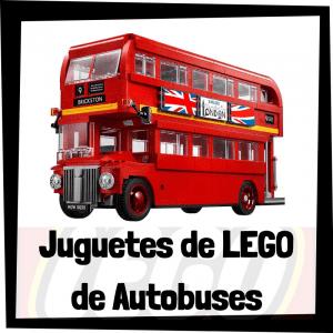 Juguetes de LEGO de modelos de autobuses - Sets de lego de tipos de autobuses - LEGO Creator
