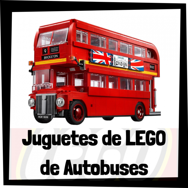 Lee más sobre el artículo Juguetes de LEGO de autobuses