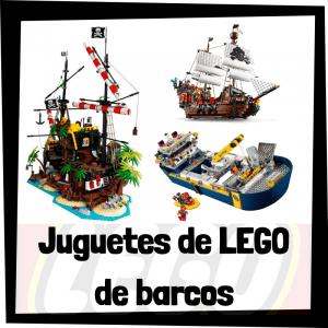 Juguetes de LEGO de barcos