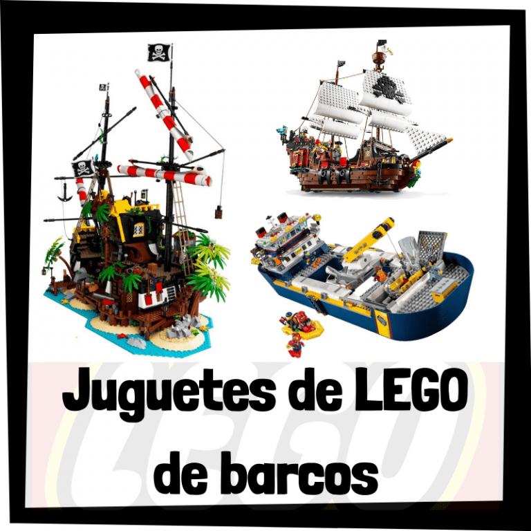 Lee más sobre el artículo Juguetes de LEGO de barcos