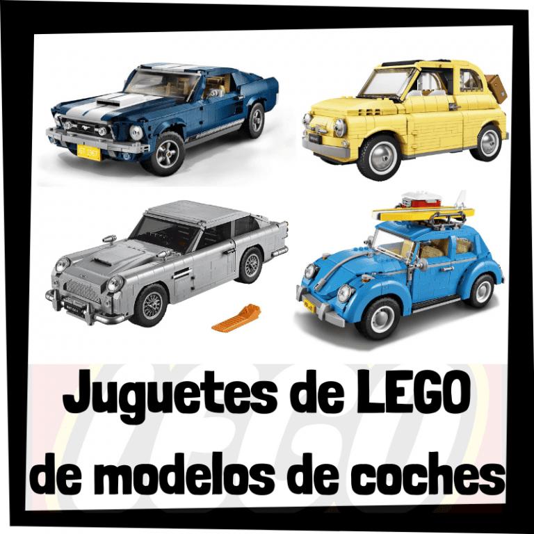 Lee más sobre el artículo Juguetes de LEGO de modelos de coches